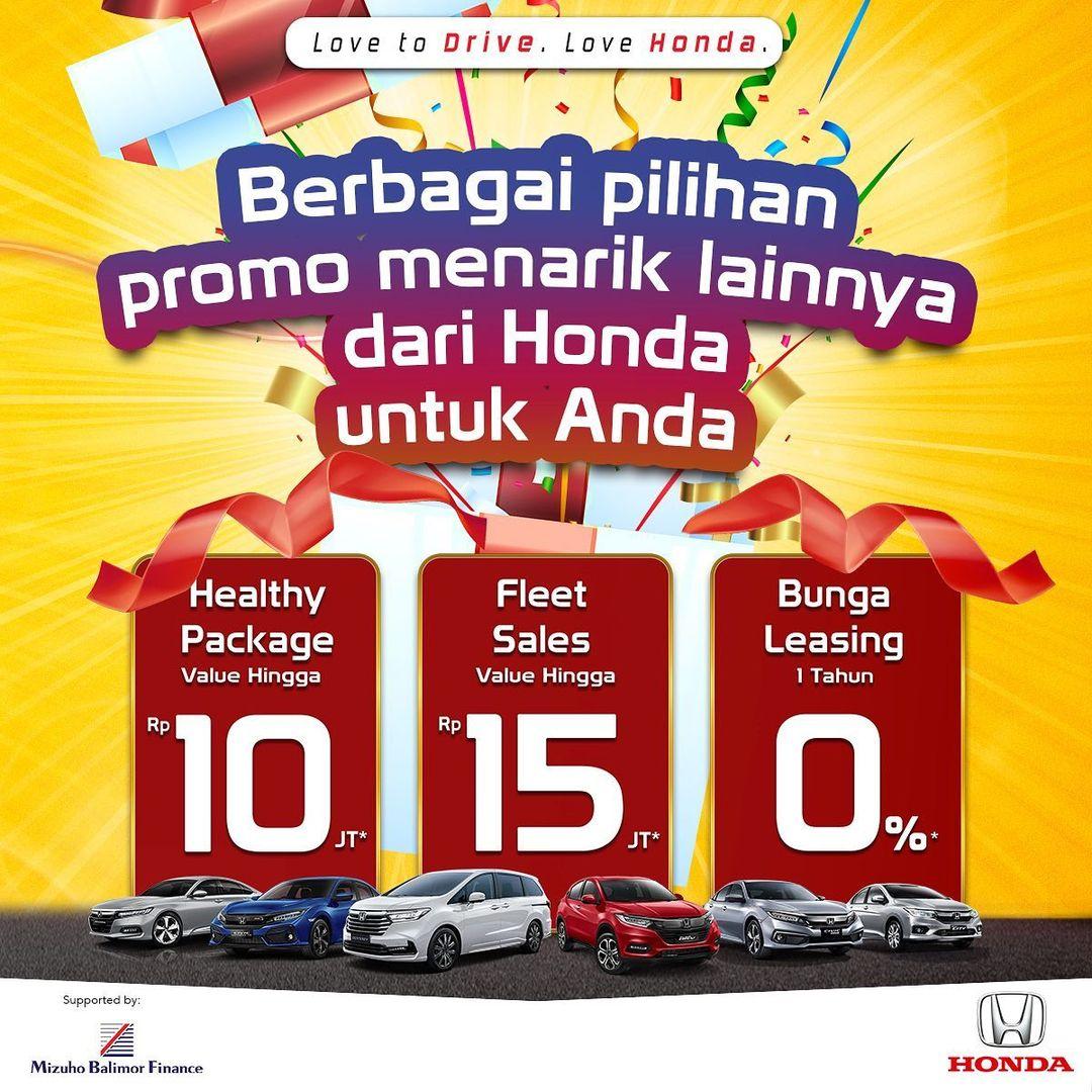 Promo Akhir Honda Bekasi Jatiasih
